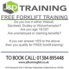 FREE FORKLIFT TRAINING!! visit http://ift.tt/2lgCbqf #forklift #jobsearch