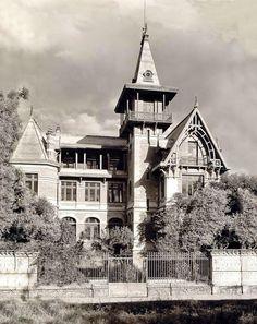 Casa Scherer en Mixcoac, 1909