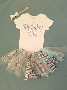 baby girl first birthday birthday girl bodysuit, tutu, bow set unique handmade scrappy tutu cake smash outfit 1st birthday photo outfit