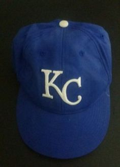 KANSAS CITY ROYALS MLB OSFM BLUE ADJ VELCRO CAP BY OC SPORTS