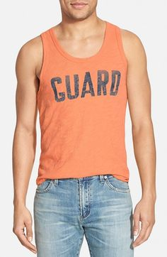 Men's Todd Snyder + Champion 'Guard' Graphic Tank
