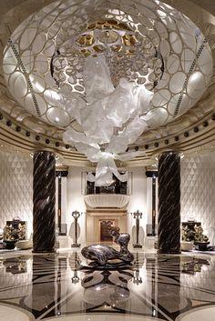 Chateau Star River - Lasvit | Hotel Interiors Inspirations #hotelinteriors…