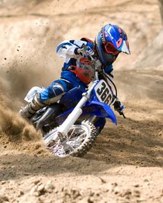 It's riding in the dirt.