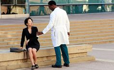 The day that Preston Burke (Isaiah Washington) packed up his lucky scrub cap, his trumpet, and that picture of his grandmother that sat beside the bed he shared with his then-wife-to-be Cristina Yang (Sandra Oh), is frozen in time for Grey's Anatomy fans.