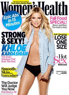 Best served HOT! Khloe Kardashian admits in a new interview that all of her hard work is p...