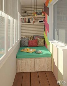 Examples for Small Balcony Decoration, . - Phoebe Home Room Design Bedroom, Bedroom Layouts, Bedroom Decor, Closet Bedroom, Small Balcony Design, Narrow Living Room, Small Tiny House, Small Closets, Tiny Apartments