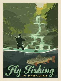 Anderson Design Group – Lake and Lodge – Fly Fishing In Paradise
