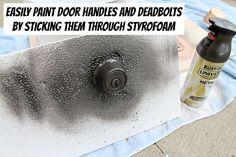An Amazingly Easy Way to Refinish Door Hardware | Hardware, Modern ...
