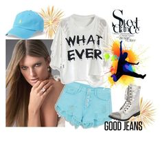 """Street Dance"" by seadbeady ❤ liked on Polyvore featuring WithChic, H.I.P., Gia-Mia, Polo Ralph Lauren and denim"