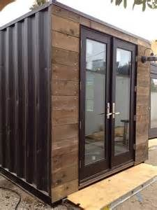 shipping containers rustic garage and shed santa shipping container ...