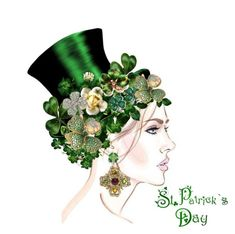 """""""St.Patrick's Day"""" by atenaide86 ❤ liked on Polyvore featuring art"""