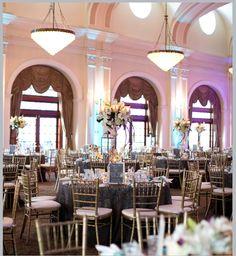 Texas-Chic Crystal Ballroom Wedding by Sharon Nicole Photography ~ Ceremony & Reception Venue: Crystal Ballroom at the Rice