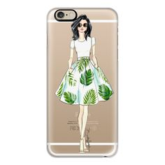 iPhone 6 Plus/6/5/5s/5c Case - Bethany-Fashion Illustration-Brooklit (524.645 IDR) ❤ liked on Polyvore featuring accessories, tech accessories, iphone case, slim iphone case, apple iphone cases and iphone cover case