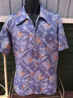 Vintage Men's 70's Disco Shirt XL by Attitude by Heidisvintageshop, $14.99