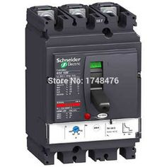 50.00$  Buy here - http://aiej8.worlditems.win/all/product.php?id=32704124694 - NEW LV433204 circuit breaker Compact NSX100R - TMD - 63A - 3 poles 3d