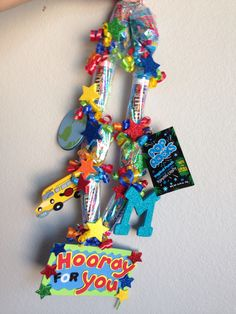 Graduation Candy Lei