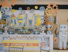 "Robots / Birthday ""Jaime's Robot 2nd Birthday"" | Catch My Party"