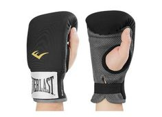 Everlast Neoprene Boxing Gloves Punching Mitts Focus Target Workout MMA UFC Kit