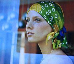 Le turban, Jardin des Modes July/August 1971