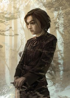 arya wiguna by BramastaAji on DeviantArt Catelyn Stark, Game Of Thrones Art, Speed Paint, Valar Morghulis, Sci Fi, Lord, Deviantart, Science Fiction