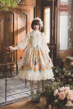 """frederica1995: """" Baroque x Sakizo 3rd collaboration """"Secret garden"""" catalog """""""