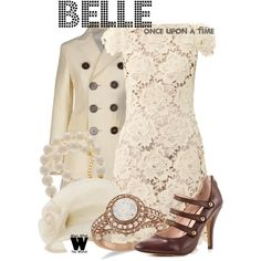 Inspired by Emilie de Ravin as Belle on Once Upon a Time.