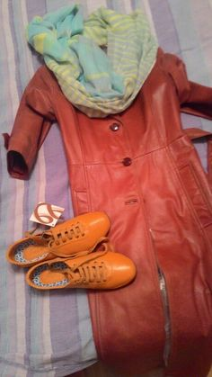 Red cloak, orange boots