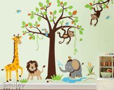 SMILEYWALLS wall art for Nursery and Kids room's by smileywalls