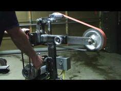 Belt Grinder part 2 - YouTube