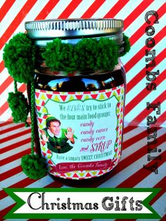 Christmas Neighbor Gifts - homemade syrup for waffles and pancakes! From Marci Coombs' Blog