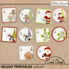 Download and print these free gift tags!