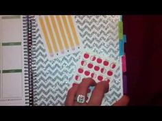 Watch my video on how I set up my note section in my Erin Condren Life Planner! :D