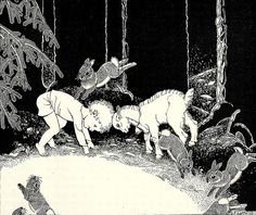The Little White Goat by Dorothy P. Lathrop, 1935