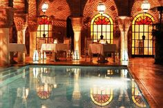 """10 extraordinarily designed hotels :::   9. La Sultana Marrakech, Marrakech, Morocco ::: """"Different in design and decor elements - while maintaining your Arabian dream."""""""
