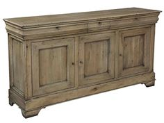 Shop for Sarreid Cafe Au Lait Buffet Driftwood, 27857, and other Dining Room Cabinets at Englishman's Interiors in Dallas, TX. Solid walnut 6 keys. Driftwood finish 3 adjustable shelves.