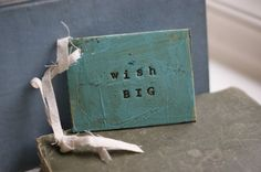 3 Distressed Turquoise Birthday Gift Tags by PaperandMallet