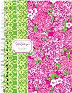 Lilly Pulitzer Spiral Notebooks - May Flowers