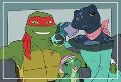 Raph's future family TMNT