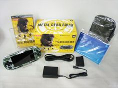 Used PSP Playstation Portable Console Metal Gear Solid Peace Walker Premium 1271 #SONY