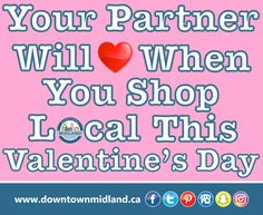 #ValentinesDay #FastApproaching #DowntownMidlandON