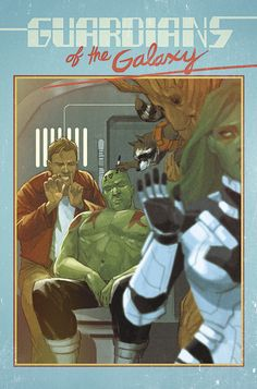 Guardians of the Galaxy - Hank Pym Photo by Phil Noto *
