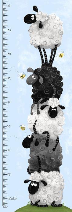 """Lewe the Ewe design SB20043-710 15"""" panel #susybee"""