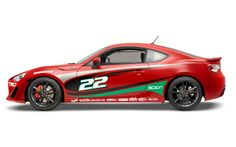 2013 Scion FR-S Toyota Pro Celebrity Race car profile Photo on March 8, 2013