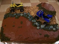 4 wheeler cake ideas | Sweet Caroline Treats