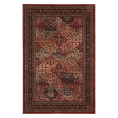 Buy Royal Heritage Imperial Baktian Rug, Red, L200 x W135cm Online at johnlewis.com