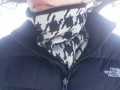 Check out this item in my Etsy shop https://www.etsy.com/listing/263750237/houndstooth-neck-gaiterneck-warmer