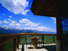 """You think you are riding up into the clouds"""" as you arrive at this """"unmatched resort"""" overlooking the Snake River and the Grand Teton mountain range from its perch atop a butte. The rooms """"exceed all expectations"""" with their deep soaking tubs, metal fireplaces, and floor-to-ceiling windows, and provide """"much-needed comfort after long days spent enjoying the outdoors."""""""