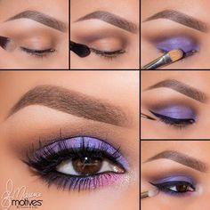 Stunning Pictorial #purple #eyeshadow #eyemakeup #pretty #beauty - For more #beautytips, goto bellashoot.com