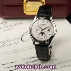 """Patek Philippe Perpetual Calendar Platinum - """"3rd Series"""" REF: 3940P 