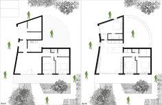 Maison T par Thibaudeau 90m2